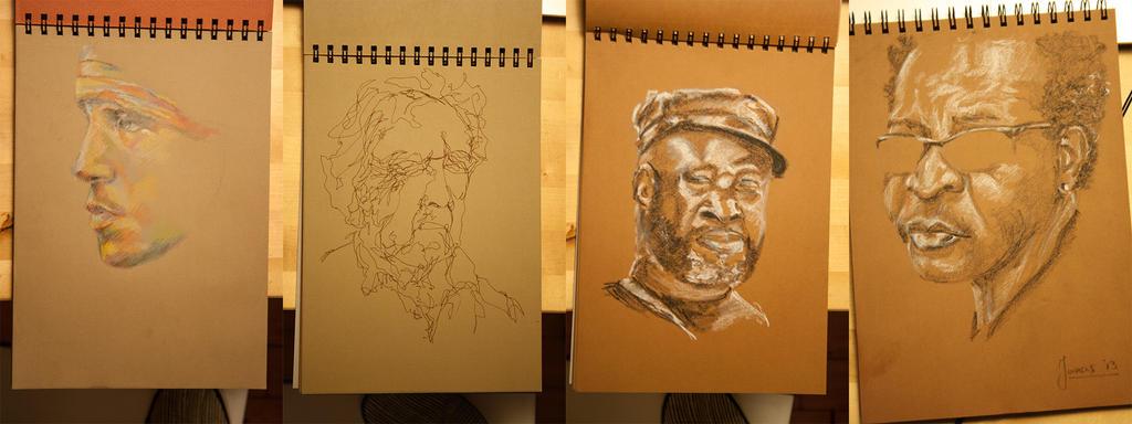 Sketches Ingres