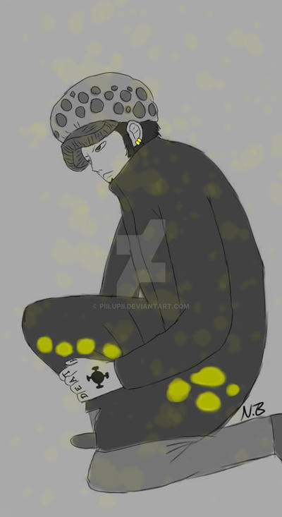 Trafalgar Law after Timeskip by PiiLuPii on DeviantArt