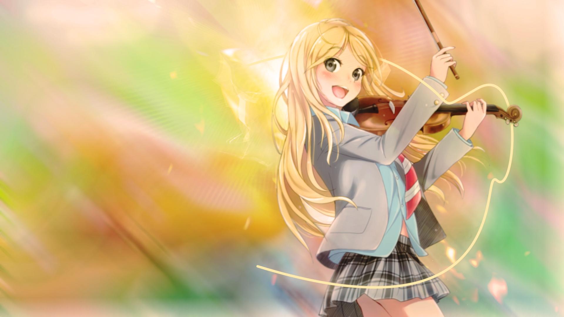 Free Kaori Miyazono Wallpaper
