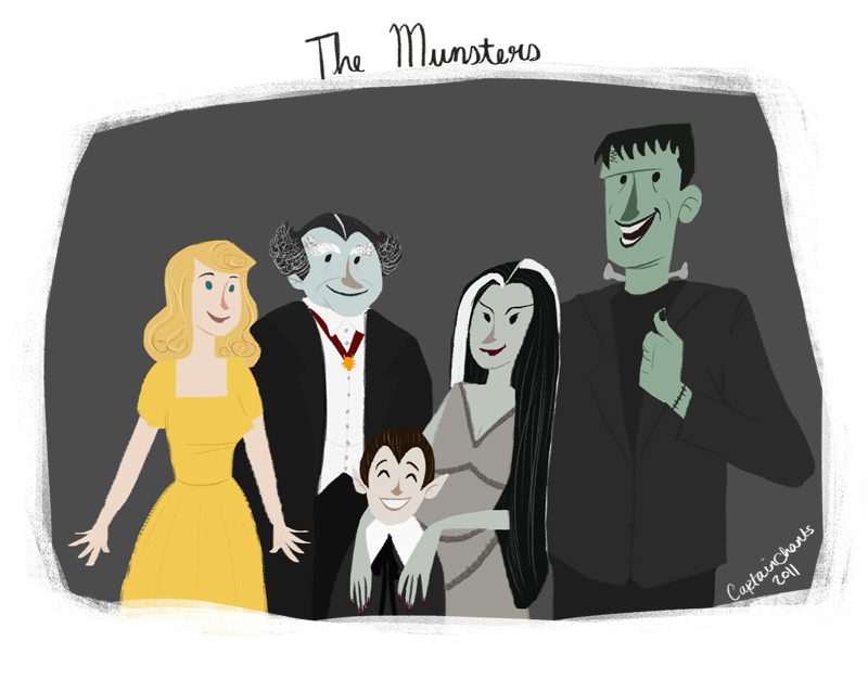 The Munsters by CaptainChants