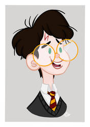 Harry Potter by CaptainChants