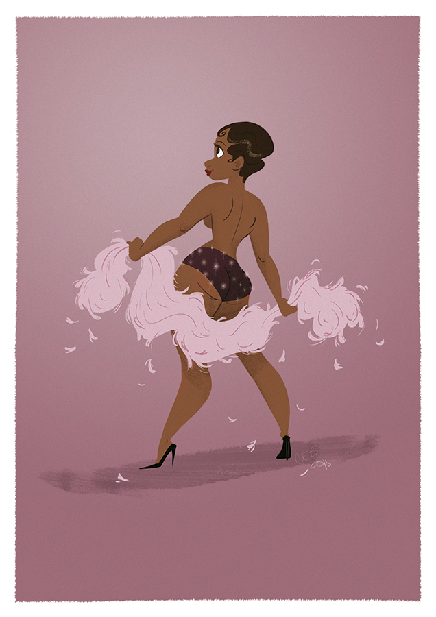 Josephine Baker by CaptainChants