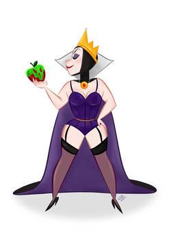Evil Queen   Pin Up