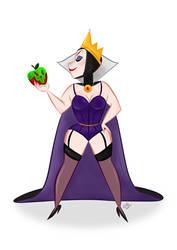 Evil Queen   Pin Up by CaptainChants