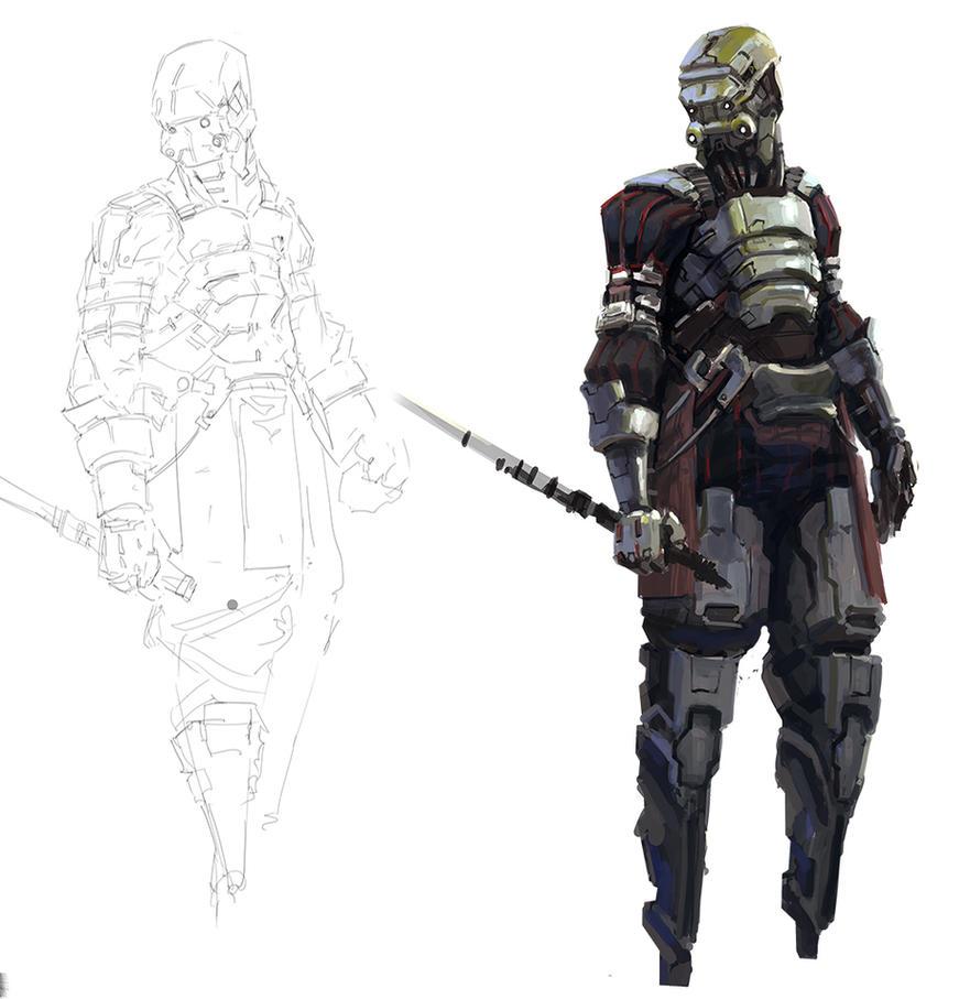 Sword unit by onestepart