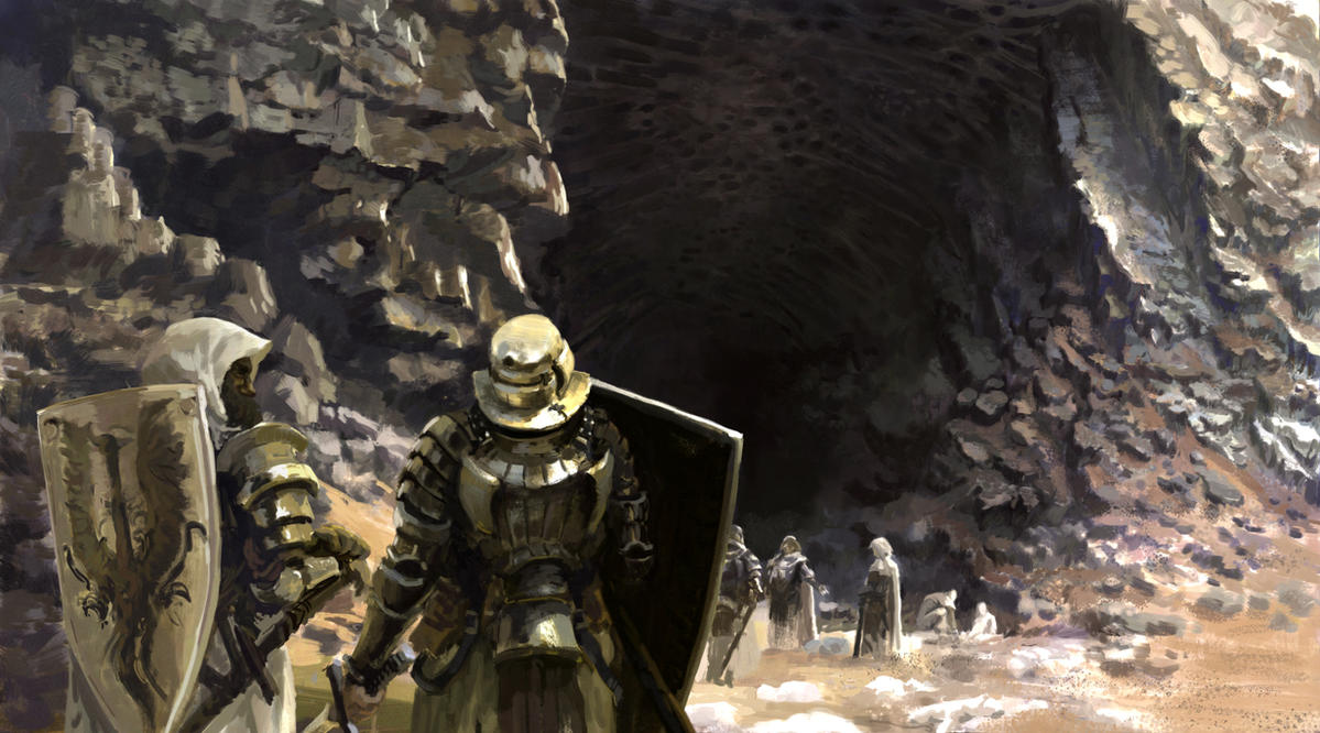 the cave by onestepart