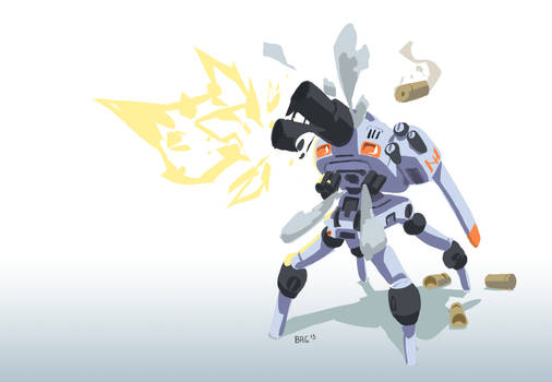 Cannon robot