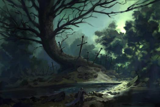 Tree of blades