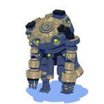 Riftbranded - Stone robot