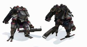 Gun Division - Police armor turn around