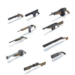 Riftbranded - Guns