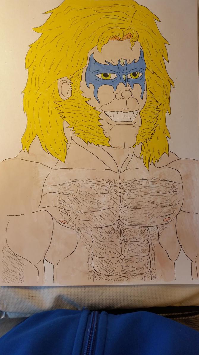 Max Alpha, The EEW World Champion (Color) by Jagoman169