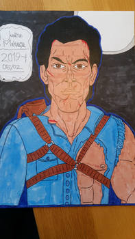 Ash Williams from Evil Dead