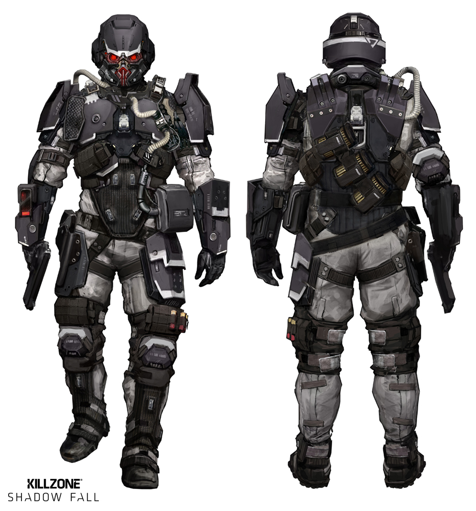 Helghast Asault Infantry Soldier