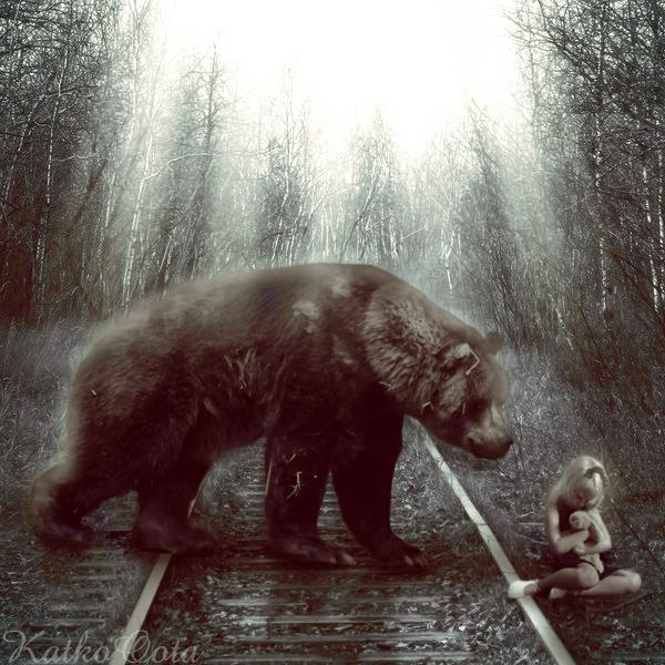 Dangerous bear V1 by KatkoOota