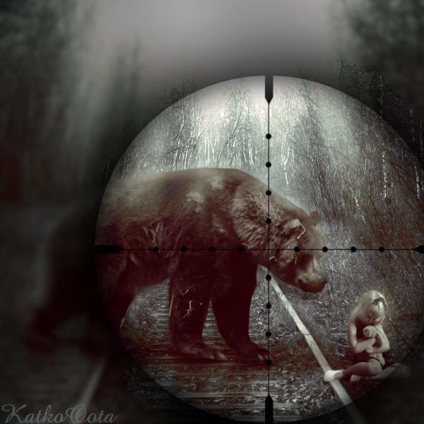 Dangerous bear V2 by KatkoOota