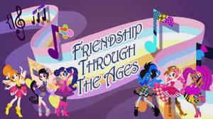 The Rainbow Rocks Team Friendship Through The Ages