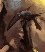 :Creepy Crow: by martinhoulden