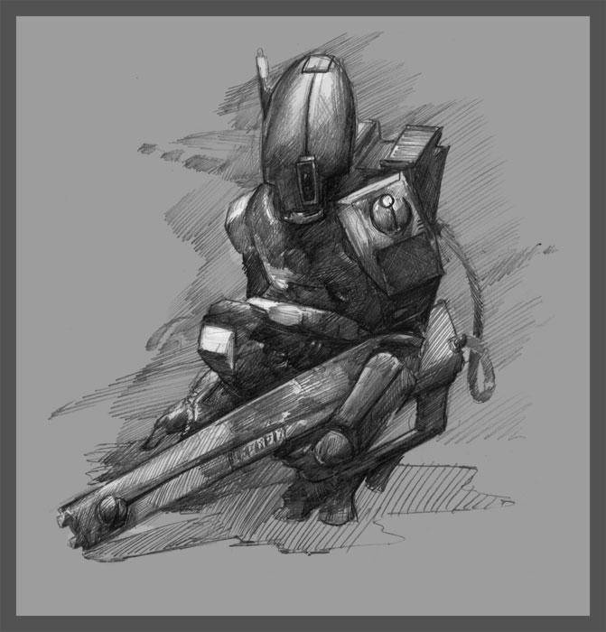 30MS - Tau Fire Warrior