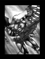 ::Swooping Hawk:: by martinhoulden