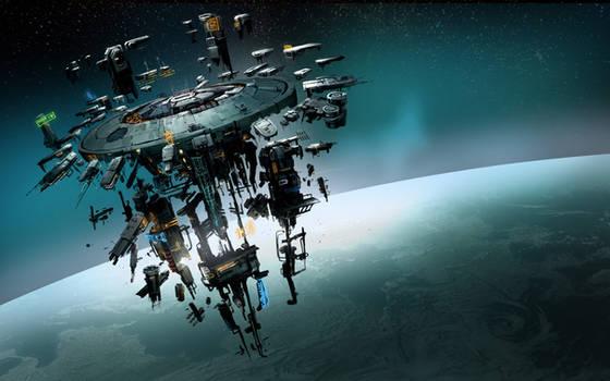 Elite Dangerous Space Station