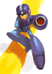 Megaman by martinhoulden