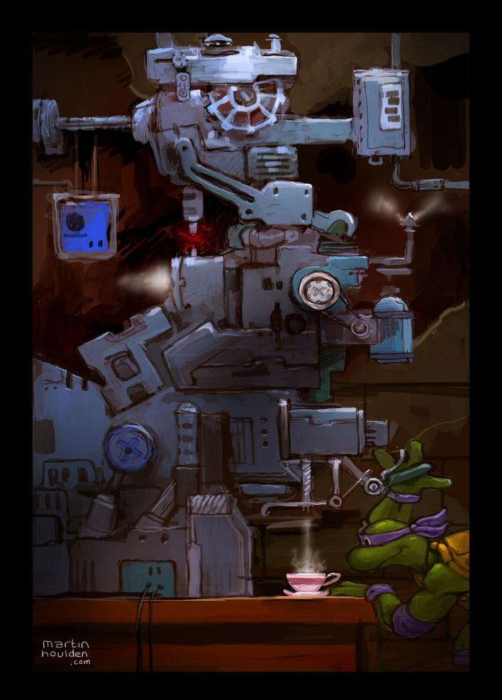Donatello Does Machines by martinhoulden
