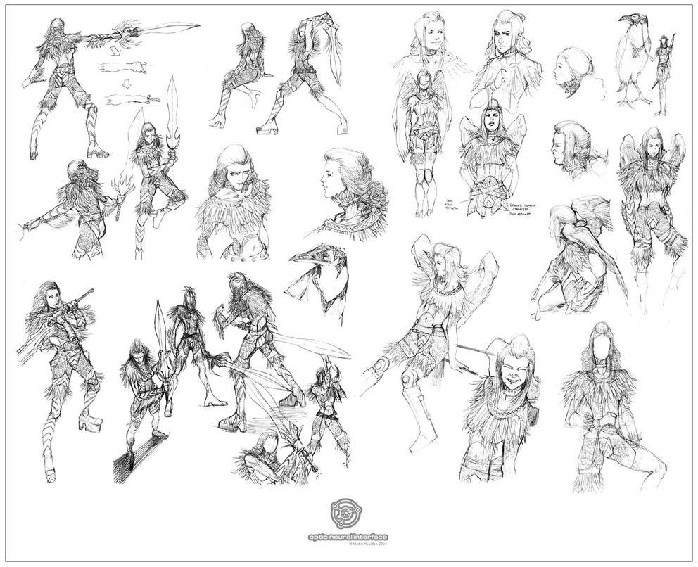 Male Character Design Sheet : Aesil character design sheet by martinhoulden on deviantart