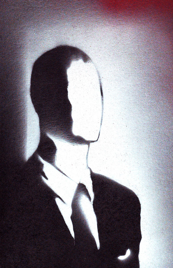 Mr. Slender Man by MrJak