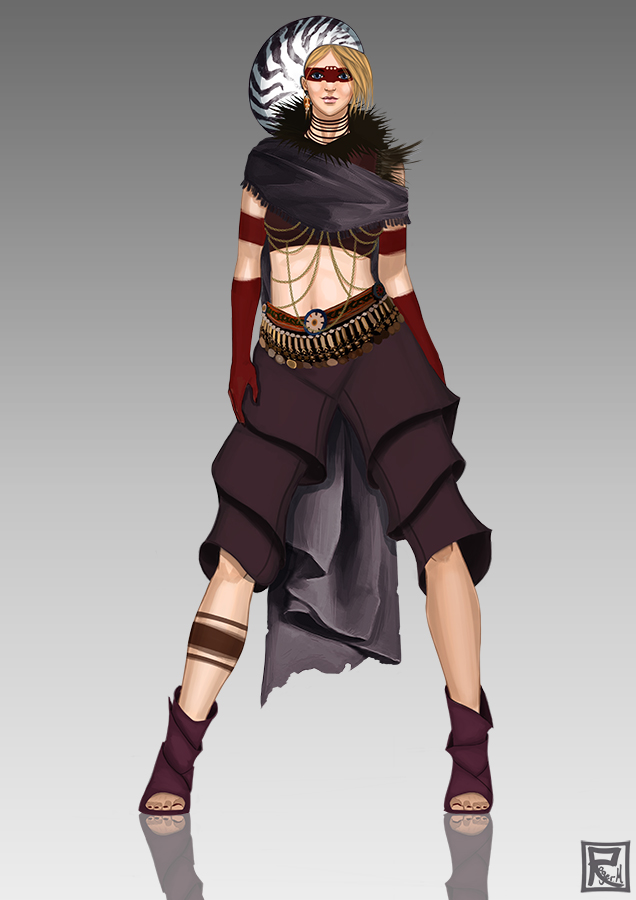 Rebel princess by Rogerpunk