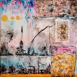 Abstract Painting. Original Art, Modern art