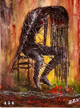 Abstract Acrylic Painting. My Destiny