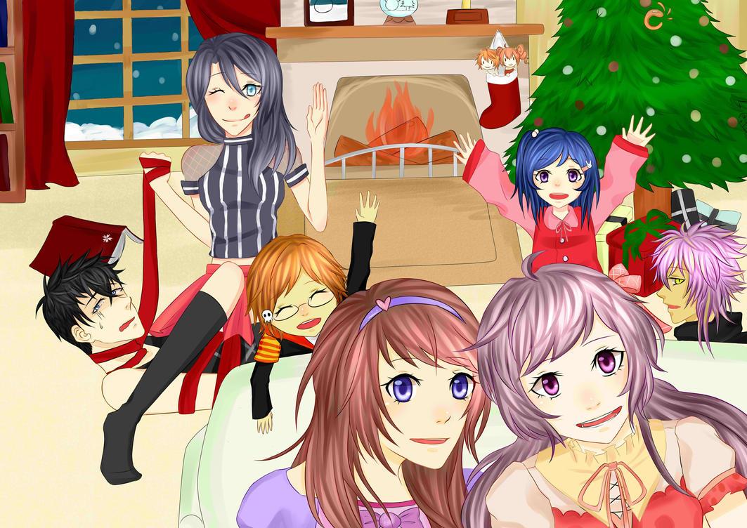merry christmas kyarameru! by NomNom-Luffs