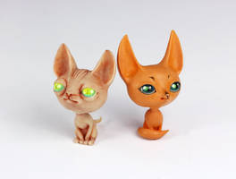The cat and the fox by Gogolle