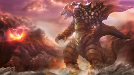 Kaiju_Charged Rock Kaiju