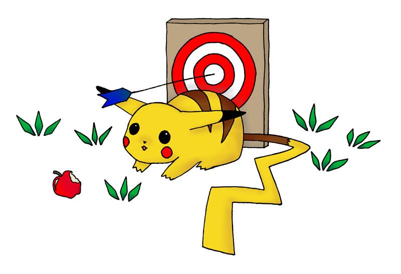 Pikachu by Phavorianne