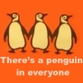 There's a penguin in everyone. by inbarigami