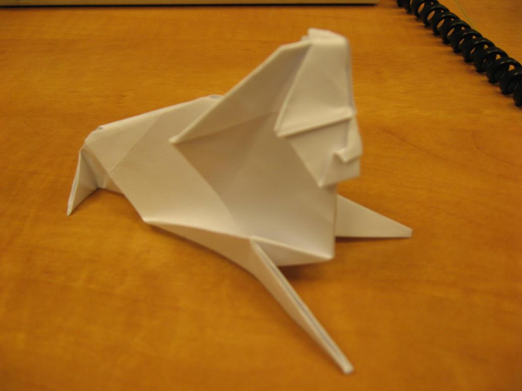 Оригами сфинкса 171