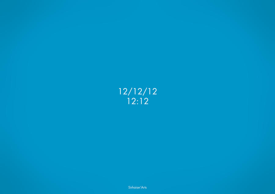 12/12/12 by Sirhaian
