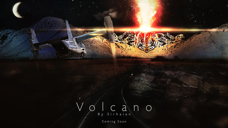 Volcano by Sirhaian