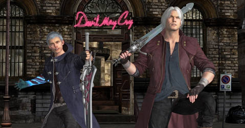 Dante and Nero Real Dynamic Duo by WildGold