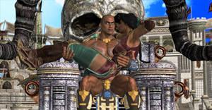 MK 11 Kotal Kahn and Jade