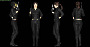 Lara Croft Stealth Outfit Meshmod