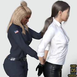 Arrest Pose Pack DAZ 3D Preview