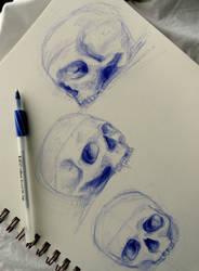 Ballpoint pens r fun ^.^ by Ashception