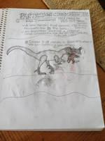 Cryptid Sketch: Partridge Creek Monster by Strikerprime