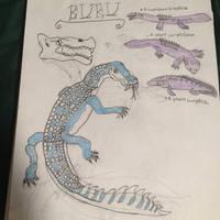 Cryptid Sketch: Buru by Strikerprime