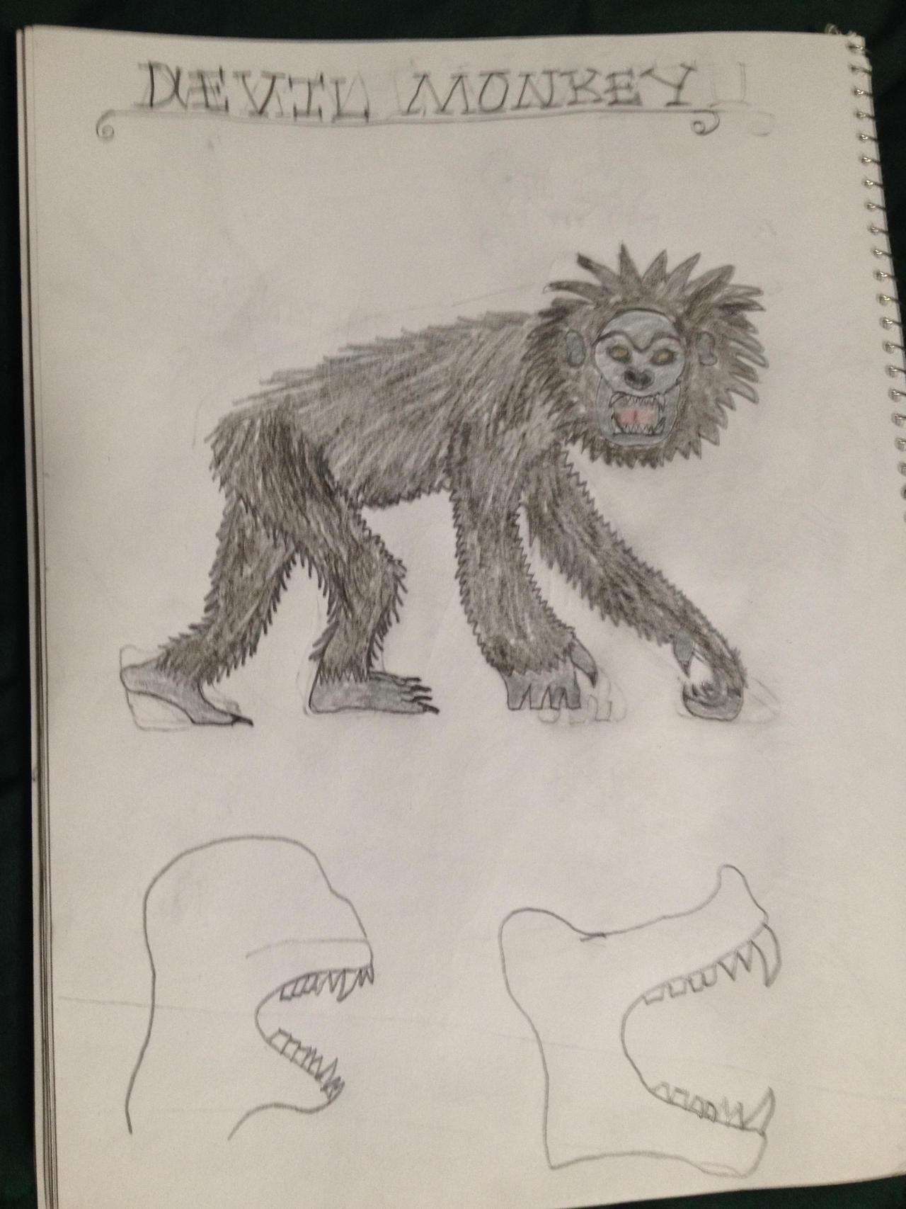 X Monkey Cryptid