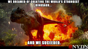 Jurassic World Indominus Rex Meme by Strikerprime