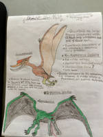 Cryptid Sketch: Big Bird by Strikerprime